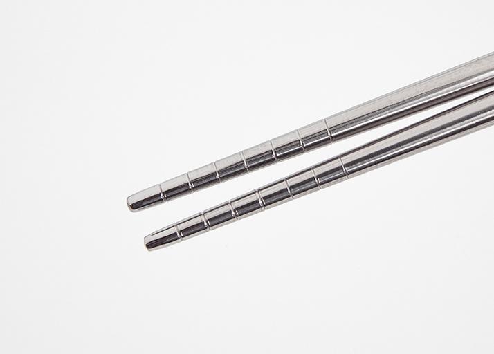 筷子前端止滑設計