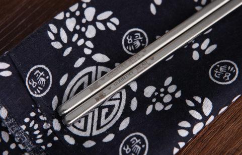 綠貝鄉村熊不鏽鋼筷