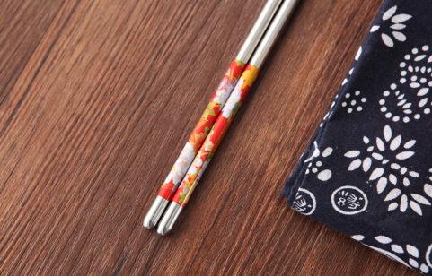 綠貝304不鏽鋼日式花筷