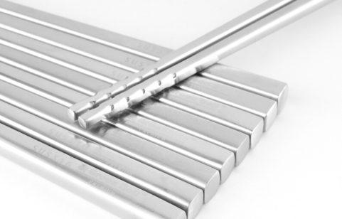 綠貝316不鏽鋼和風止滑方筷