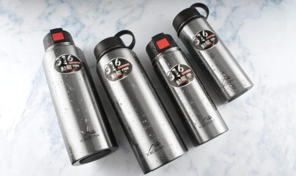 YOKOZUNA 316不鏽鋼雙蓋動能保溫瓶