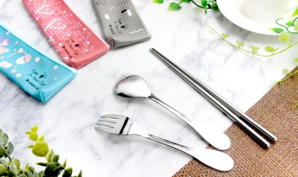 幾何風304不鏽鋼餐具組|人氣環保餐具組推薦