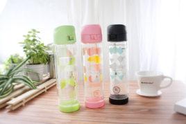 雙層防護玻璃水壺