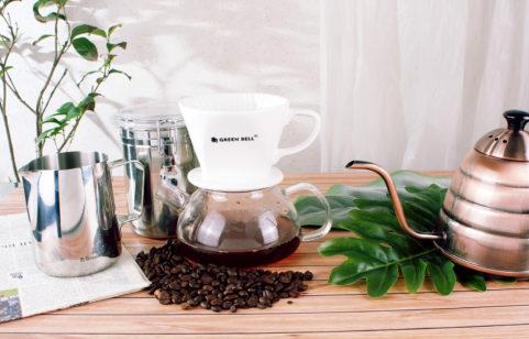 綠貝陶瓷咖啡濾杯系列