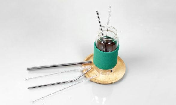 綠貝316不鏽鋼防刮舌直吸管