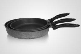 綠貝合金不沾鍋平底鍋/炒鍋