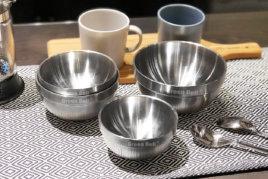 316不鏽鋼雙層隔熱白金碗
