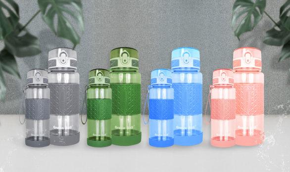 綠貝PC果漾彈蓋水壺